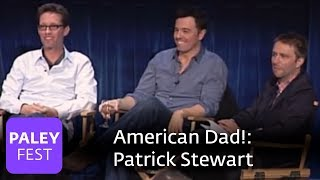 American Dad! Seth On Paul Lynde And Patrick Stewart