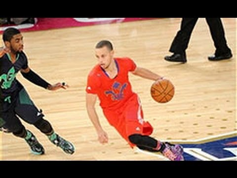 Stephen Curry's INSANE Between-the-Legs Dribble Move