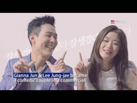 "Showbiz Korea - LEE JUNG-JAE & GIANNA JUN SHOW COMEDIC QUALITIES IN ""HANDSOME DANCE"""