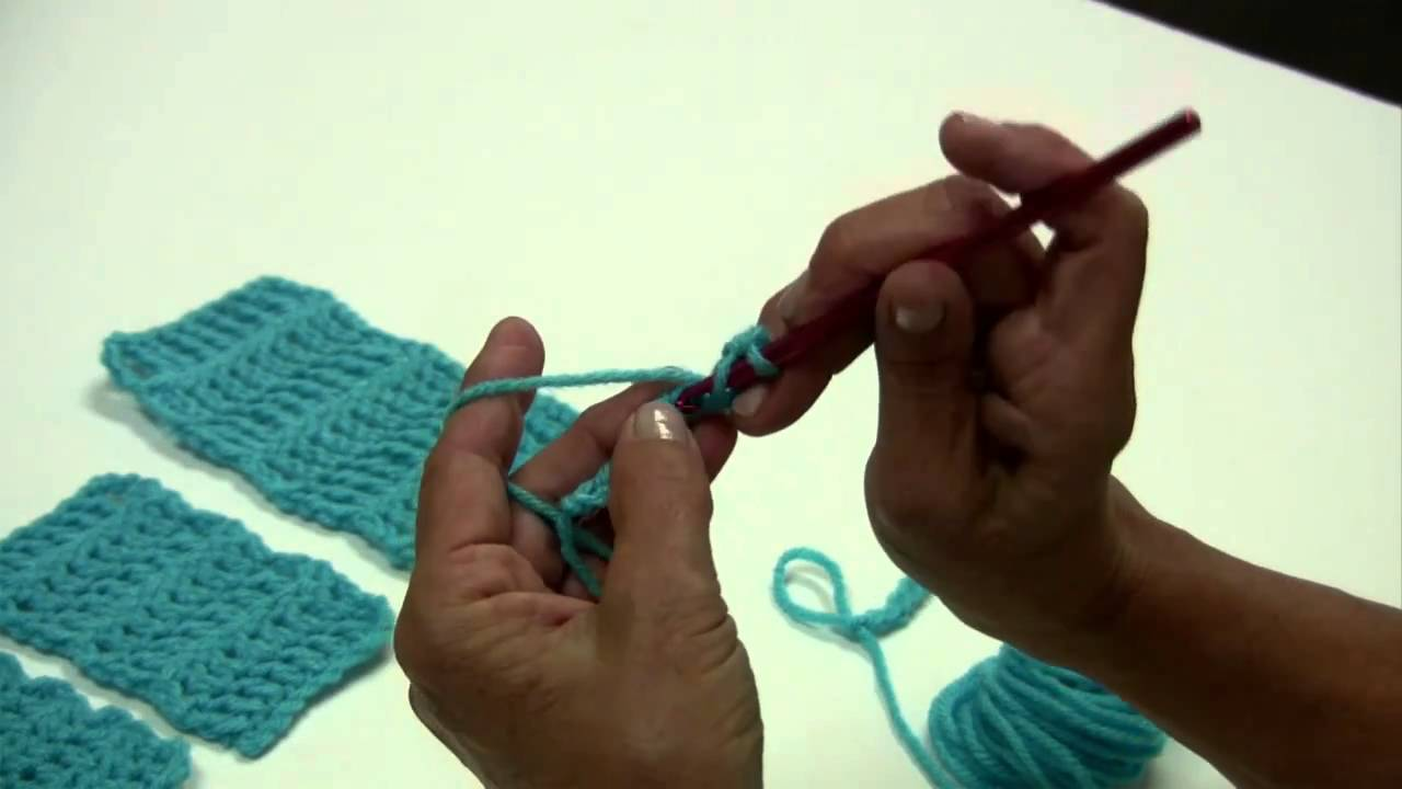 Basic Crochet Stitches Youtube : ... Basic Crochet Stitches by Red Heart with Kathleen Sams - YouTube