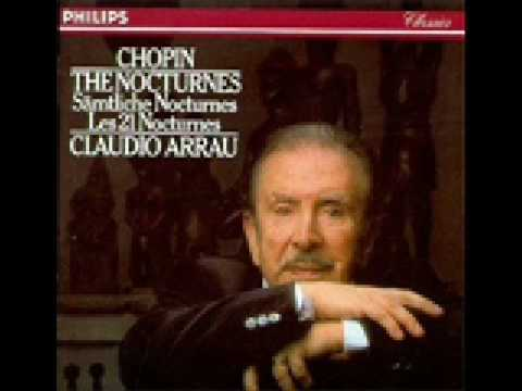 Arrau Claudio Nocturne in G minor, Op. 15 No. 3
