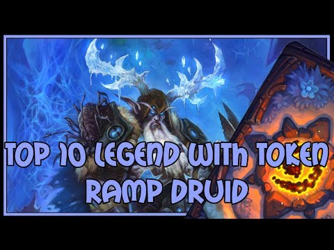 Hearthstone: top 10 legend with token ramp druid
