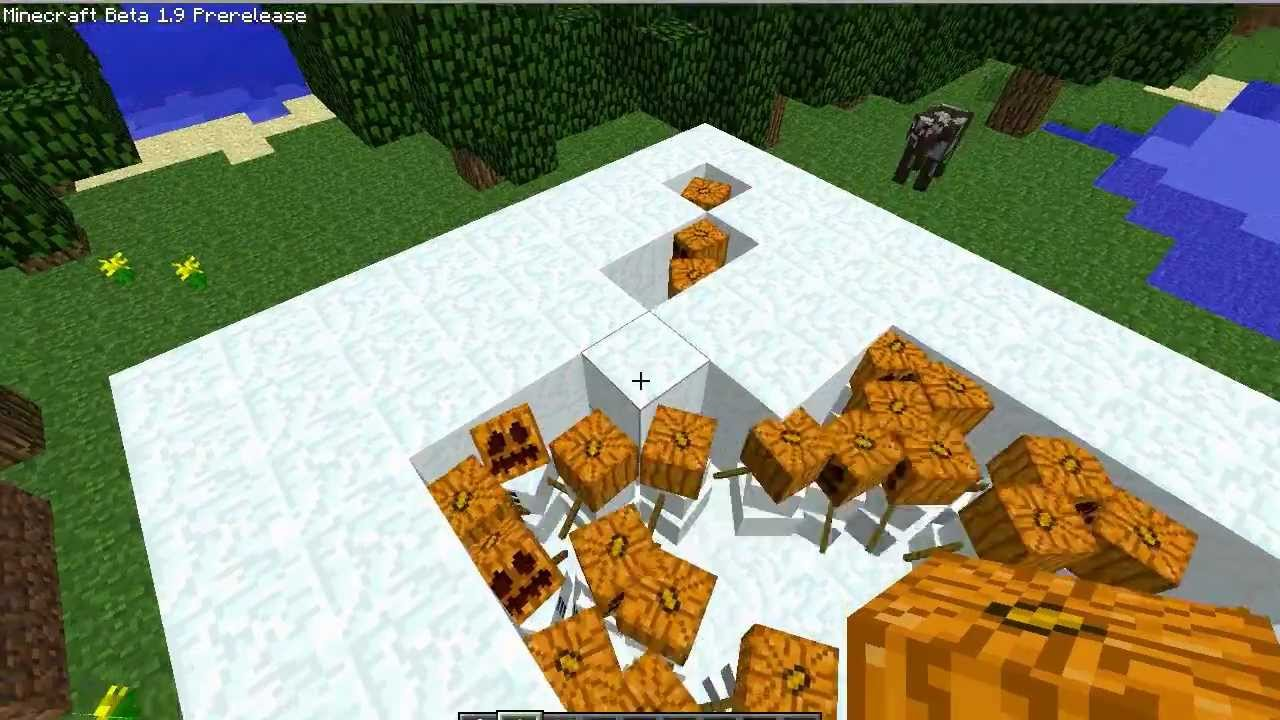 how to build a golem in minecraft