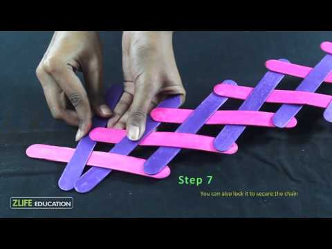 Popsicle chain Reaction - Engineering Activity for Kids