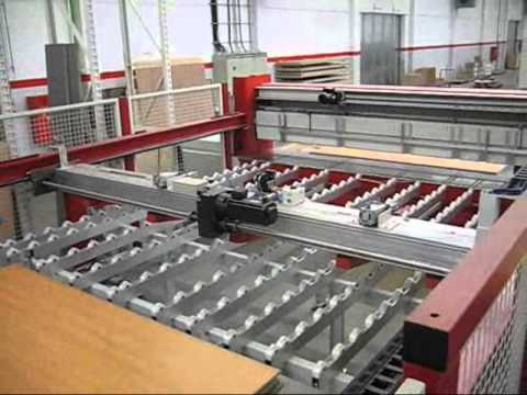 SCHELLING Panel Saw - YouTube