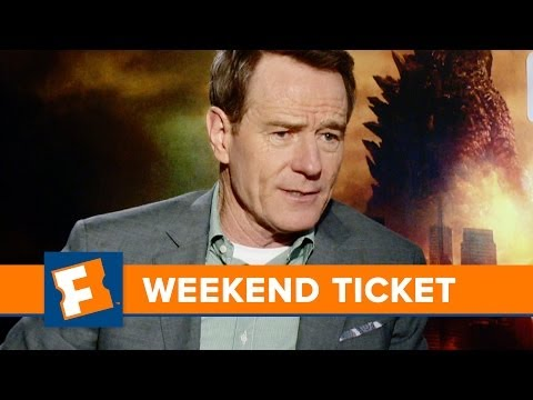 Godzilla, Million Dollar Arm, Guest - Bryan Cranston | Weekend Ticket | FandangoMovies