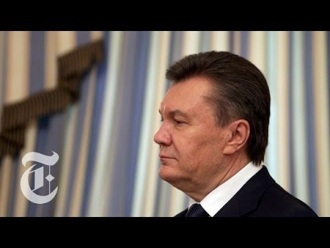 Times Minute 2/24/14 | Looking for Yanukovych | The New York Times