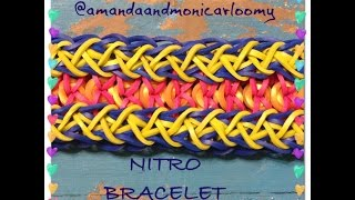 **NEW**Nitro Rainbow Loom Bracelet Tutorial