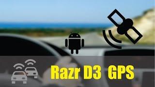 Razr D3 Funcionamento Do GPS Com IGO