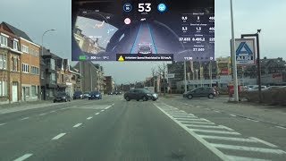 AutoPilot 2.0 huge improvement: Testing the Tesla