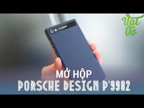 Vật Vờ - Mở hộp BlackBerry Porsche Design P'9982: điện thoại đẳng cấp cho doanh nhân