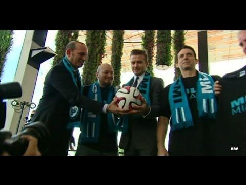 Buy it like Beckham? Former England captain set to own Miami MLS team - BBC News