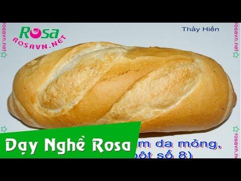 Bánh mì cóc rỗng ruột - rosavn.net