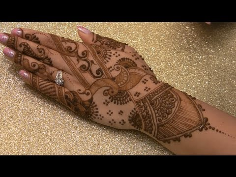 Modern Indian Bridal Mehendi