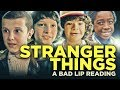 STRANGER THINGS A Bad Lip Reading