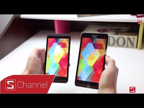 So sánh HTC Desire 816 vs ASUS Zenfone 6 - Phần 1