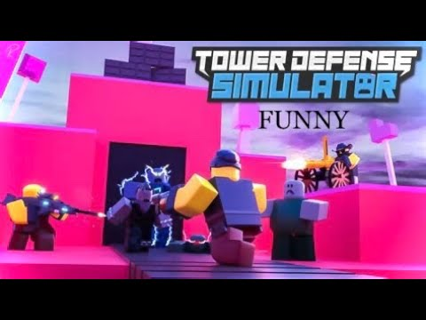 Most Funny Tower Defense Loss 🤣   ROBLOX
