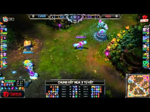 [CK Mùa 3] [Tứ Kết 2] Gambit Gaming vs NaJin Black Sword [Game 1] [24.09.2013]