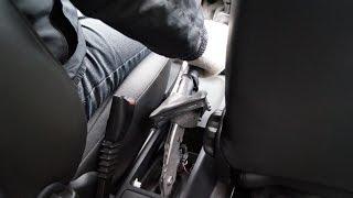 OPEL Corsa Handbrake Adjustment