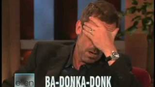 BRITISH ACCENT AMERICAN ACCENT (Hugh LAURIE)