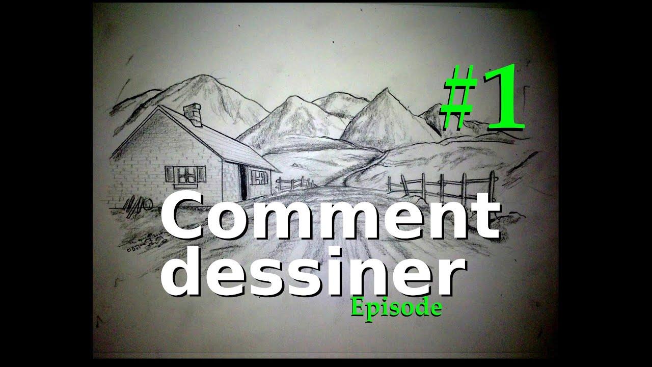 Comment dessiner episode 1 mat riel paysages - Comment dessiner le drapeau d angleterre ...