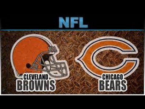 Chicago Bears Vs. Cleveland Browns/ FirstEnergy Stadium.