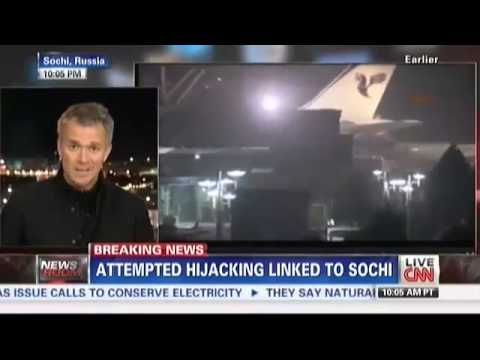 Sochi Winter Olympics: BOMB THREAT forces plane from Ukraine to land in Turkey after hijack attempt