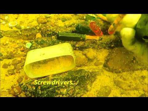 SCUBA: Diving and Metal Detecting in the River