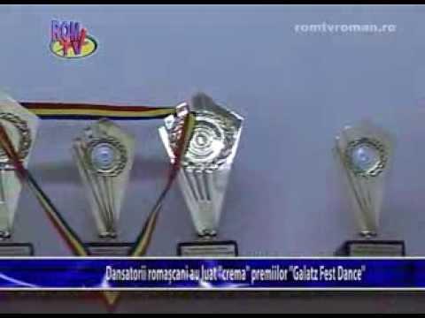 Dansatorii romascani au luat crema premiilor Galatz Fest Dance