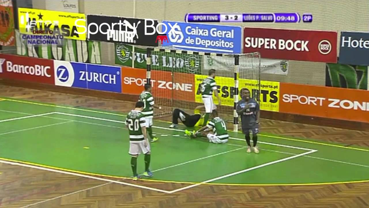 Futsal :: 17J :: Sporting - 6 x Leões Porto Salvo - 5 de 2013/2014