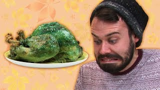 Irish People Taste Test Weird Thanksgiving Food
