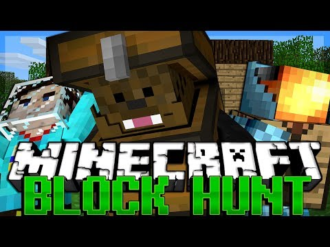 HACK AND SEEK Minecraft Block Hunt w/ xRPMx13