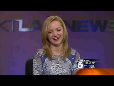 Dove Cameron Interview about Liv And Maddie on KTLA