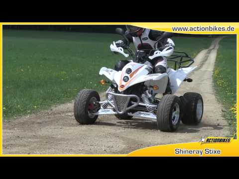 Quad Atv 250ccm Shineray STIXE ST-9E von Actionbikes