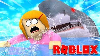Roblox Escape The Giant Hungry Sharks!