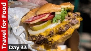 Shake Shack in NYC - Eating The Double Shack Burger!