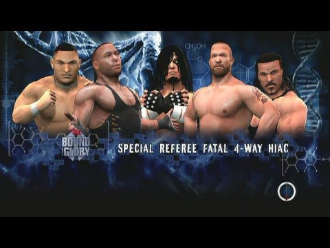 WWE 13 TNA Bound For Glory ECW Fatal 4 Way Rhino vs. RVD vs. Samoa Joe vs. Matt Morgan