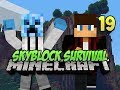 Minecraft Skyblock Survival - #19 - EMERALD COLLECTOR!