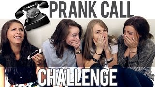 PRANK CALL CHALLENGE