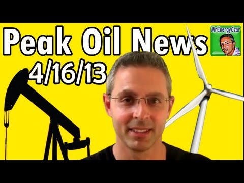 Peak Oil News:  4/16/13  Tar Sands Spill, Radioactive Fukushima Fish