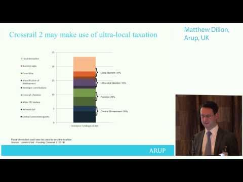 Matthew Dillon, Arup Transaction Advice: financing regional transport in challenging times