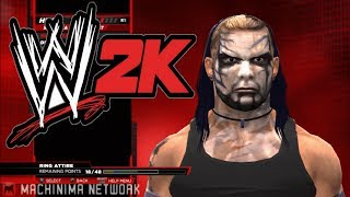 Wwe 2k14 Jeff Hardy Hack Hacked Into Game Real Model