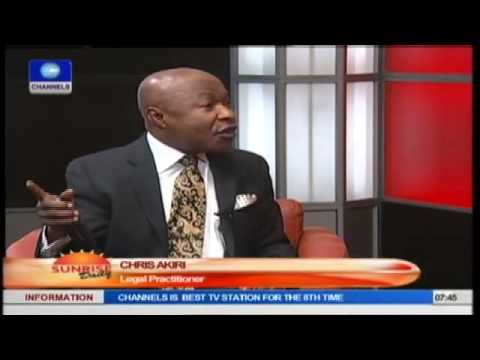Jonathan Reserves The Right To Suspend Sanusi- Legal Practitioner Prt2