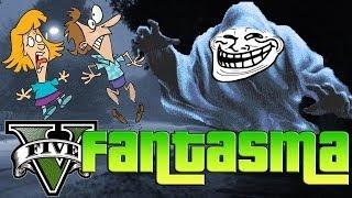 GTA V Online EL TROLEO DEL FANTASMA CHICA ASUSTADISIMA