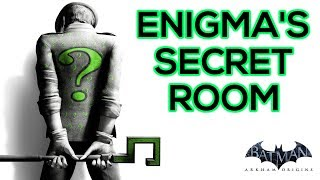 BATMAN ARKHAM ORIGINS ENIGMA'S SECRET ROOM 'First