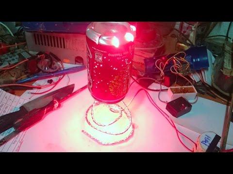 cách làm đèn ngủ tự xoay từ lon bia,đèn trang trí,Decorative lights manually rotate