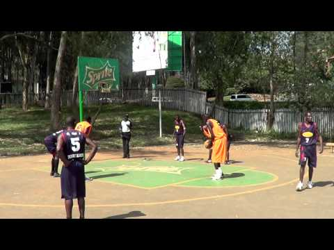 Lino Malek 2013 Dankind Academy 2nd Leg Highlights (Nairobi Basketball Association)