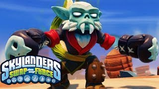 SKYLANDERS SWAP FORCE SWAP ZONE CHALLENGE ICE COLD