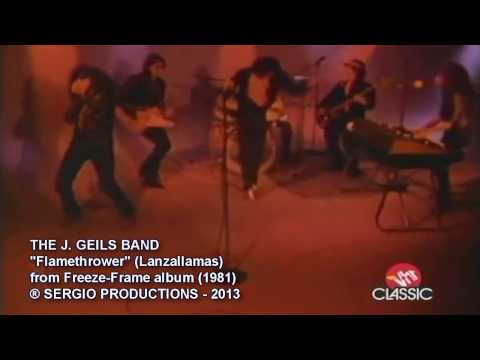 THE J GEILS BAND - Flamethrower (1981)