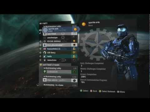 Ranking Up to Inheritor on Halo: Reach. Last game as a Reclaimer